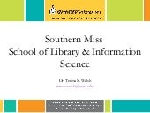 Southern Miss School of Library and Information Science 2015