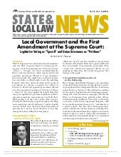 Local Govt & the 1st Amendment: Leg...