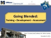 Going Blended: Training, Developmen...