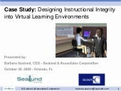 Designing Instructional Integrity i...