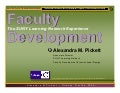 Essential faculty development attributes: Sloan-C wkshp 2009