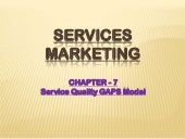 Services Marketing - Service Qualit...