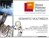 Semantic Multimedia - Seminar Somme...