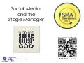 Social Media and the Stage Manager