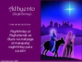 Advent recollection prayer points_Tagalog