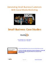 Small Business Social media e book