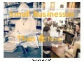Small Businesses Then & Now
