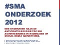Social Media Advertising onderzoek 2012