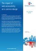 Smart Cities- Impact of web accessibility on e-service design