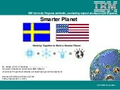 Smarter planet sweden us bridge 201...