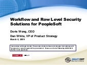 Workflow and Row-Level Security Sol...