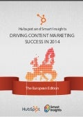 Smart insights content_marketing_europe_2014