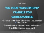 10 Smart Phone Tips/Best Practices for Business People Jun 2015