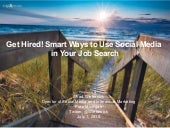 Smart ways to use social media in your job search
