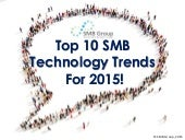 Top Tech Trends for SMBs