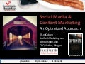 Social Media & Content Marketing - An Optimized Approach #OptimizeBook