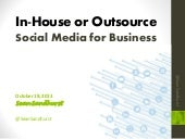 Outsource or In-house Social Media ...
