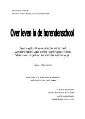 Smessaert i (2009) over leven in de...