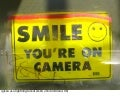 Smile, you're on camera!