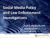 Social Media Policy & Law Enforceme...