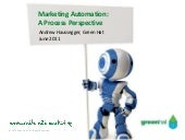 Marketing Automation: A Process Pe...