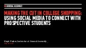Using Social Media to Connect With Students