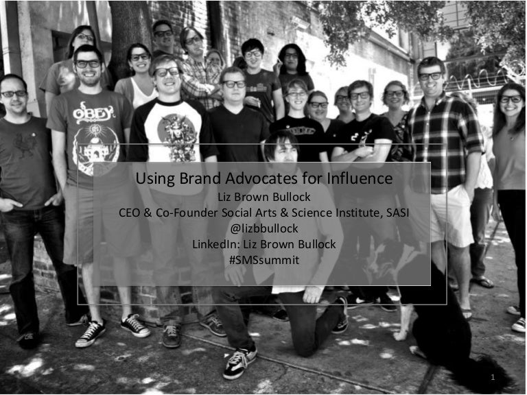 Using Brand Advocates (Employees) for Influence