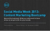 Content Marketing Bootcamp for Brands