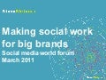 Social for big brands