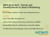 SMX@adtech: Trends and Developments...