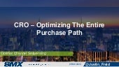 Optimizing The Consumer Purchase Path - SMX 2015
