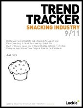 Snacking Trend Tracker September 2011