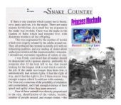 Snake country