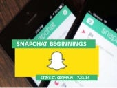 Snapchat beginnings - how the young...