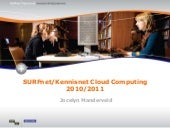 SURFnet/Kennisnet Cloud Computing p...