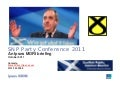 SNPConference 2011: Ipsos MORI Scotland Briefing Pack