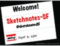 Sketchnotes-SF : Meetup 1 [Tue Sep 3, 2013]