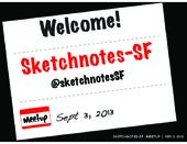 Sketchnotes-SF : Meetup 1 [Tue Sep ...
