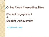 SNS & student engagement & achievement