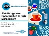 SOA for Data Management