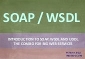 Web Services (SOAP, WSDL, UDDI)