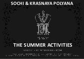 Sochi summer activities