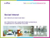 Sociaal intranet summerschool 2012
