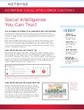 Social intelligence You Can Trust