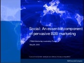 Social: An essential component of p...
