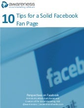 Social marketing toolkit: 10 tips f...