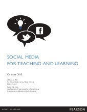 SOCIAL MEDIA  FOR TEACHING AND LEAR...