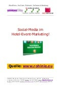 Social-Media im Hotel-Event-Marketing