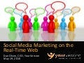 Social Media Marketing on the Real-time Web