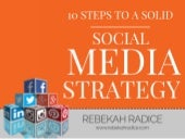 10 Steps to a Solid Social Media Strategy